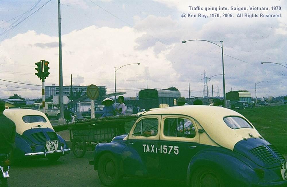 Những chiếc Taxi vàng quen thuộc