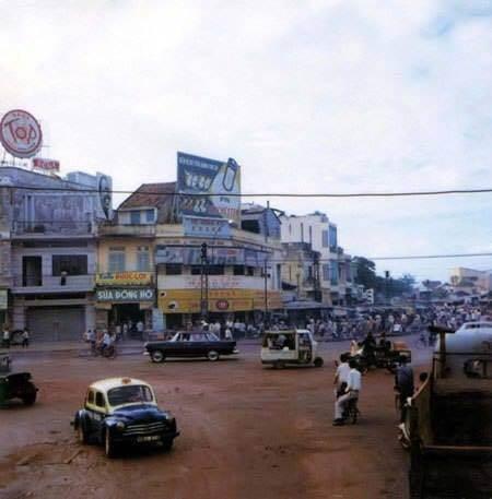Saigon 1964-68. Chợ Nancy được chụp bởi Dennis Jax