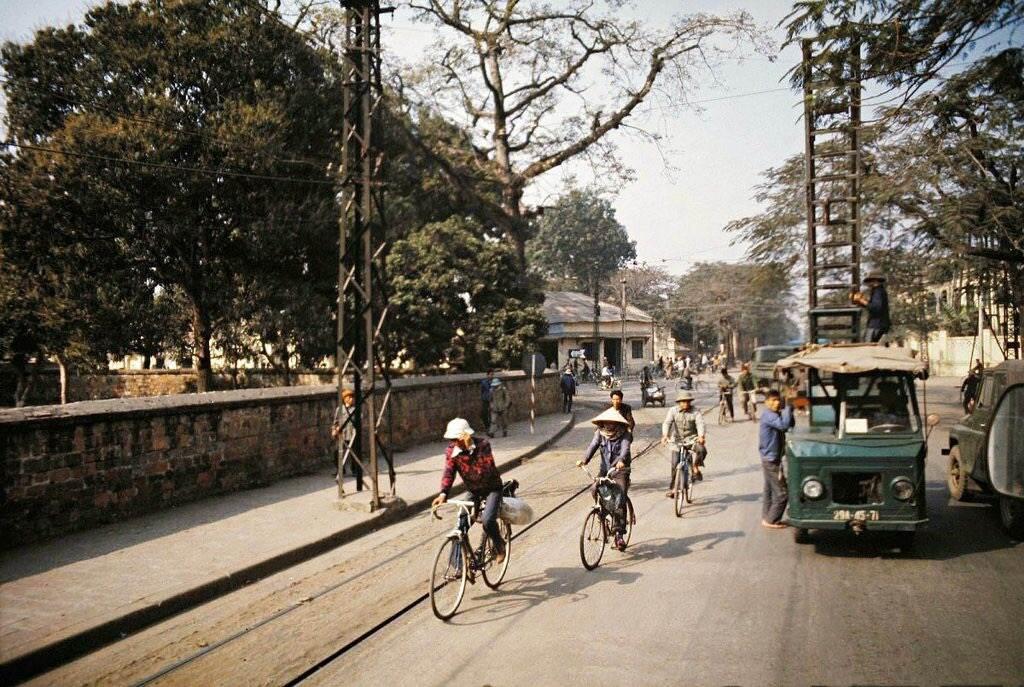 Phương tiện đi lại chủ yếu là xe đạp