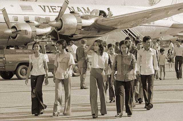 Ảnh chụp tại Sân bay Tân Sơn Nhứt