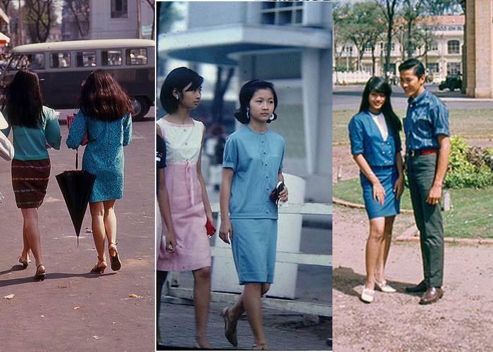Những bộ váy được các thiếu nữ thời đó rất ưa chuộng