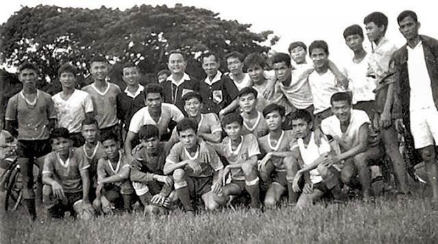 Đội túc cầu của trường T.S.Q. Vũng Tàu.