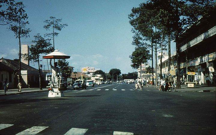 Đường phố Sài Gòn thông thoáng hiện đại bậc nhất thời đó
