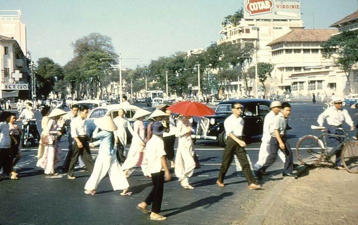 Đường Phố Sài Gòn 1956