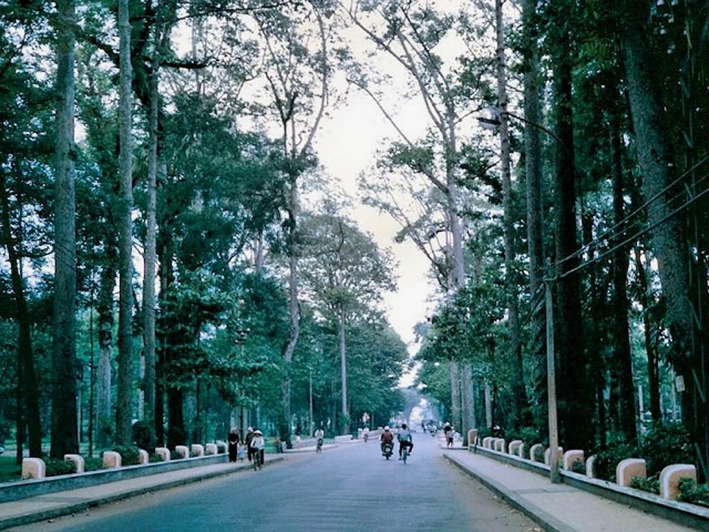 Con đường Xuyên Công Viên Trương Định xưa là Trương Công Định