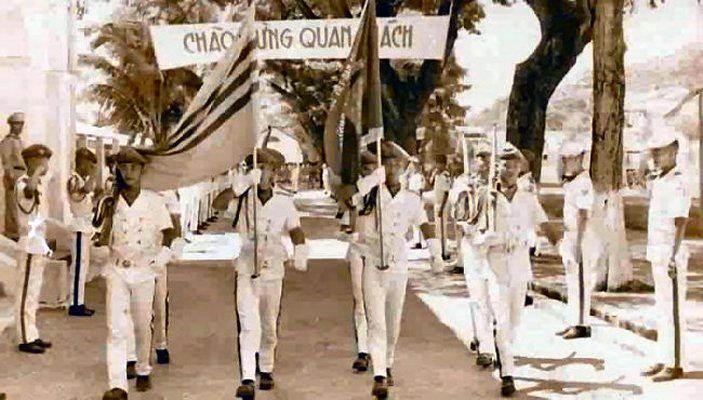 Toán cờ trong ngày Khai Giảng niên học mới.