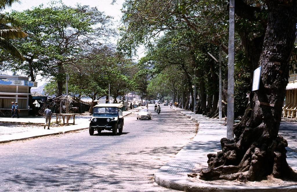 Đường Quang Trung, khu vực Bãi Trước