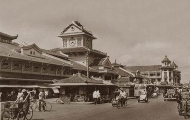 Chợ Bình Tây - ảnh chụp những năm 1920