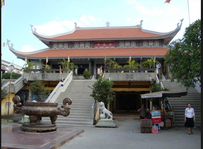 Hình ảnh chùa Vĩnh Nghiêm ngày nay