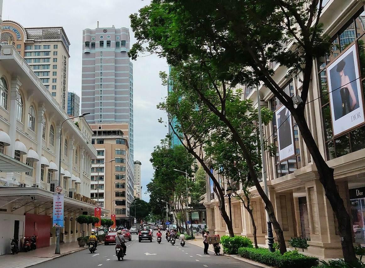 Đường Đồng Khởi ngày nay