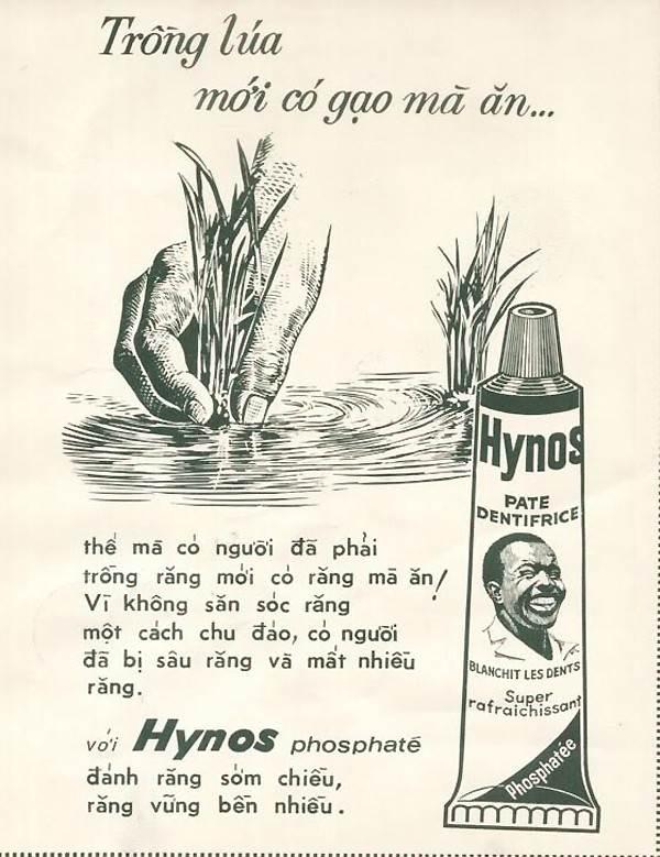 Quảng cáo của Hynos trên báo