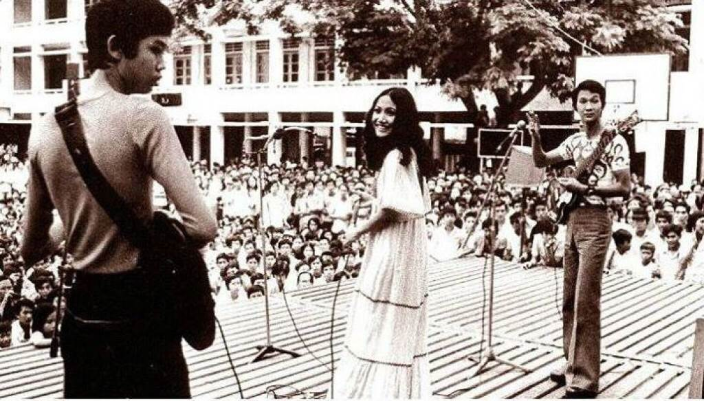 Ca sĩ Thanh Lan và ban nhạc The dream gia đình Phạm Duy
