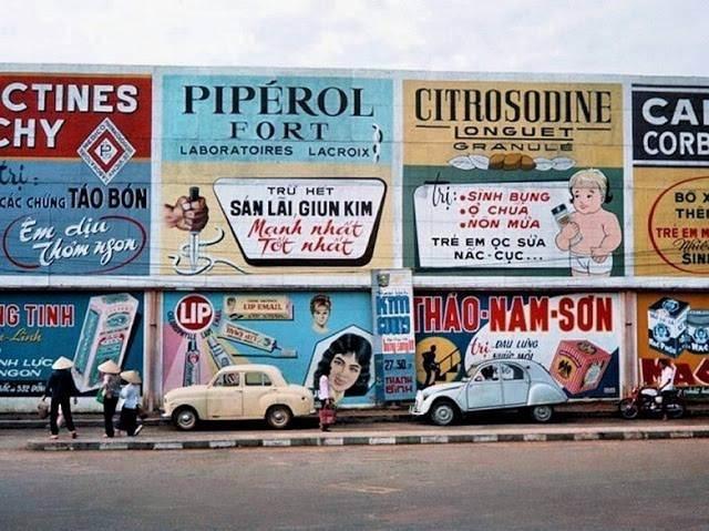 Vài Biển quảng cáo quen thuộc trên đường phố Sài Gòn