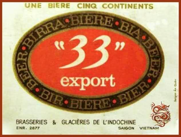 Quảng cáo Bia 33 của hãng BGI