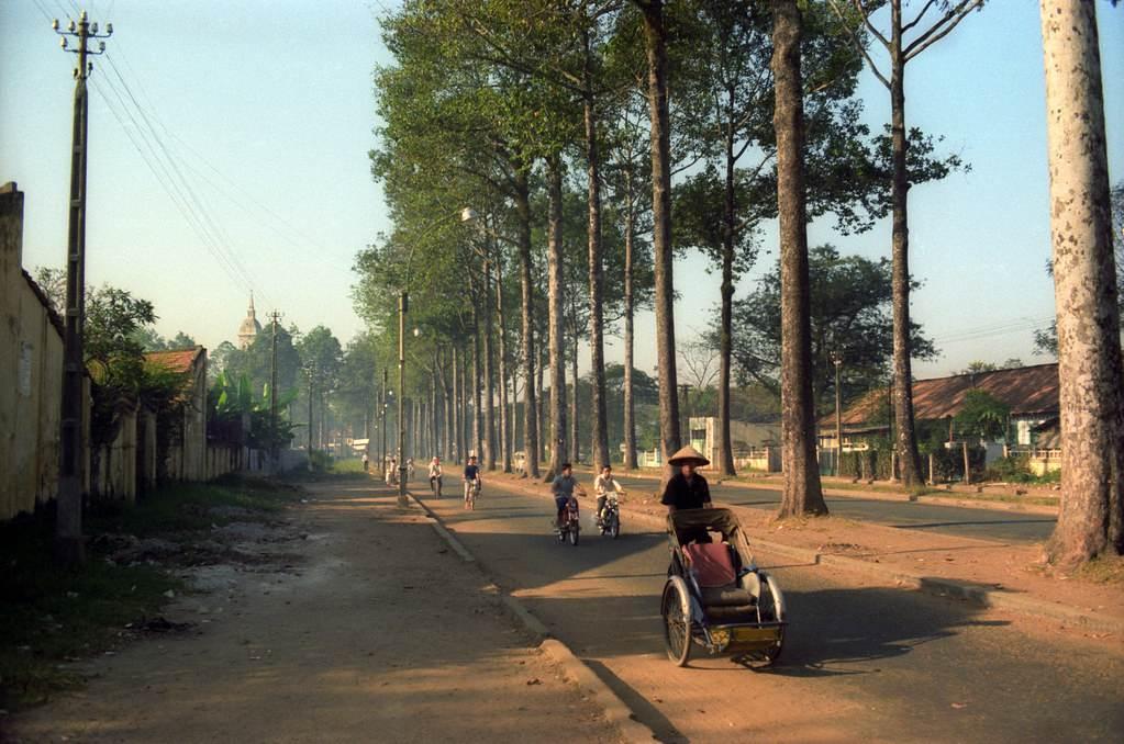 Một góc chụp khác của đường Minh Mạng