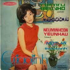 Ca sĩ Giao Linh hồi còn trẻ