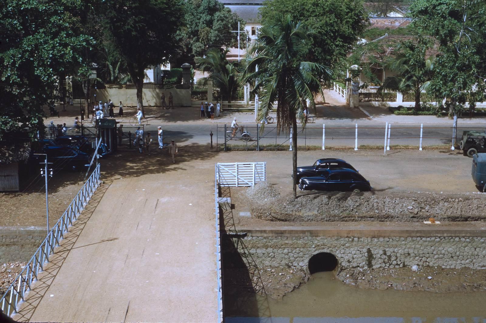Cầu tầu khu Quân cảng Bến Bạch Đằng