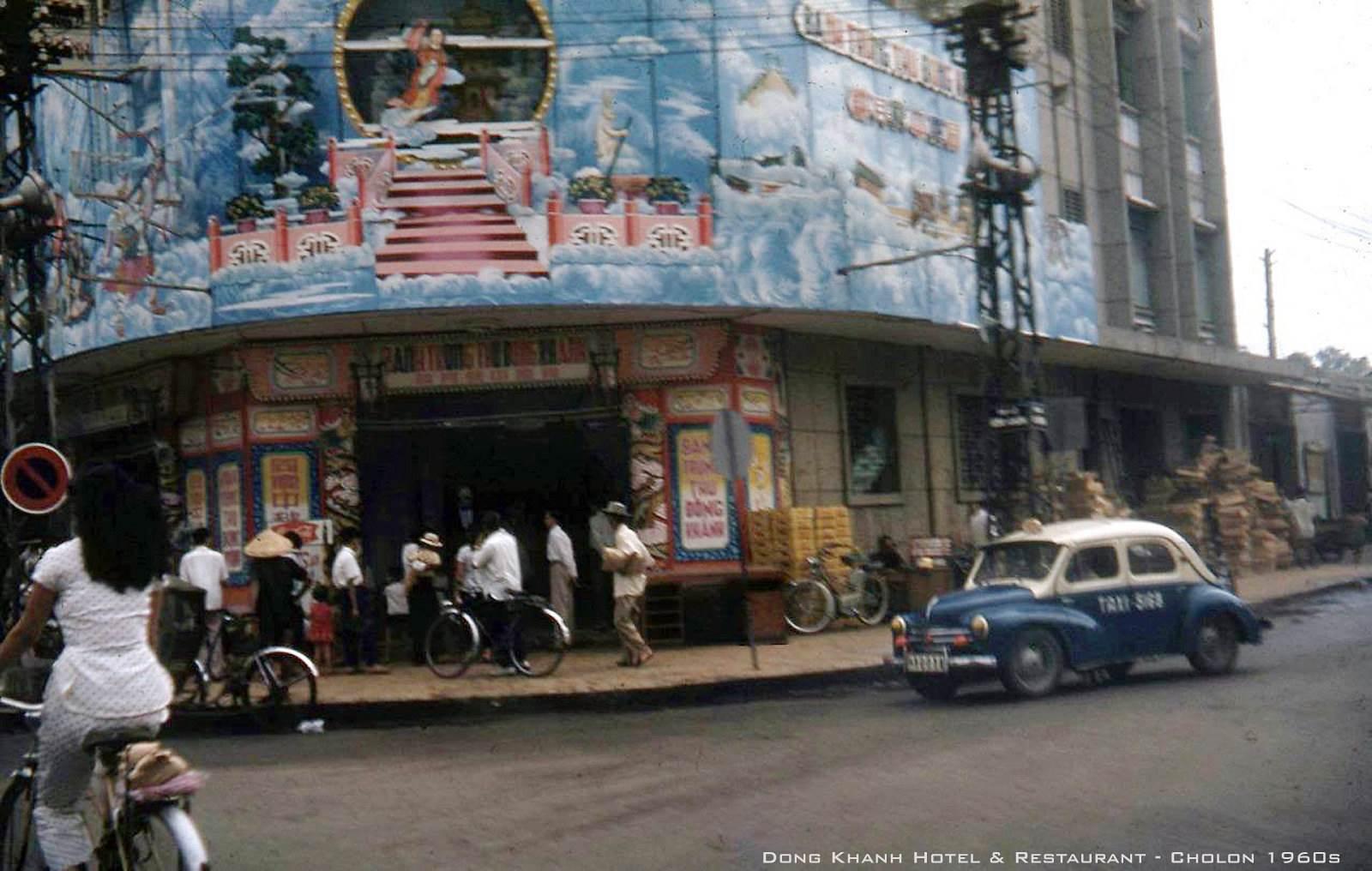 CHOLON 1960 - Nhà hàng Đồng Khánh, góc Đồng Khánh-An Bình - Bánh Trung thu Đồng Khánh