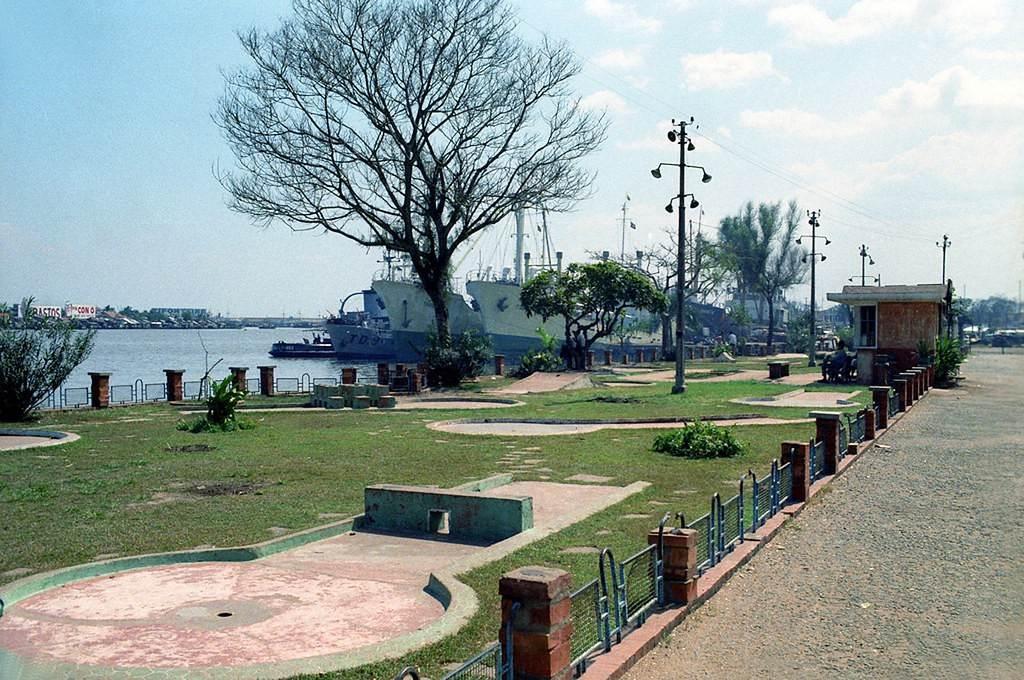 Công viên Bến Bạch Đằng, ảnh chụp nững năm đầu thập niên 1960