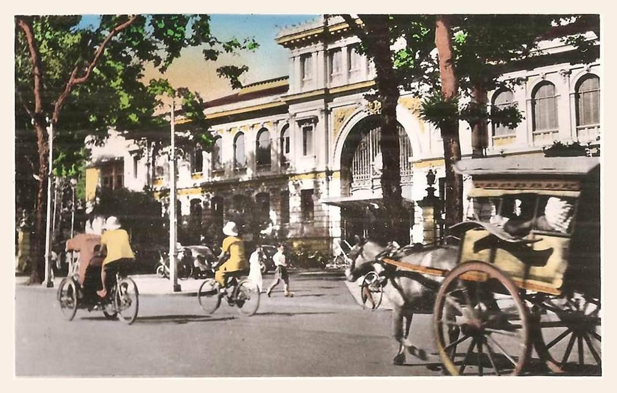 Hình ảnh Bưu điện Saigon thời Pháp thuộc