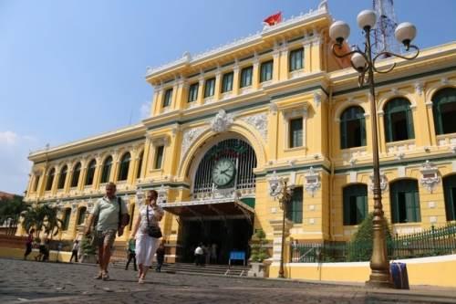 Bưu điện Sài Gòn hiện nay