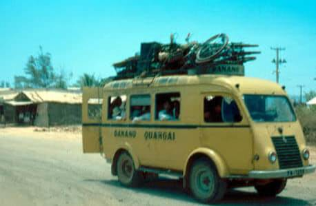 Xe Renault tuyến Đà Nẵng Quãng Ngãi