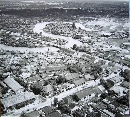 Ảnh chụp Kênh Thị Nghè năm 1955