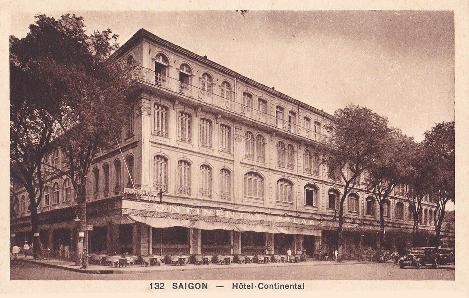 Ảnh chụp Khách sạn Continental thời Pháp thuộc