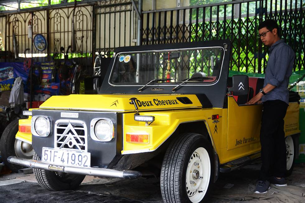 Hình ảnh một chiếc xe La Dalat ngày nay