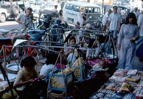Mía ghim thời đó được bày bán nhiều bơi người Saigon thời đó rất ưa chuộng