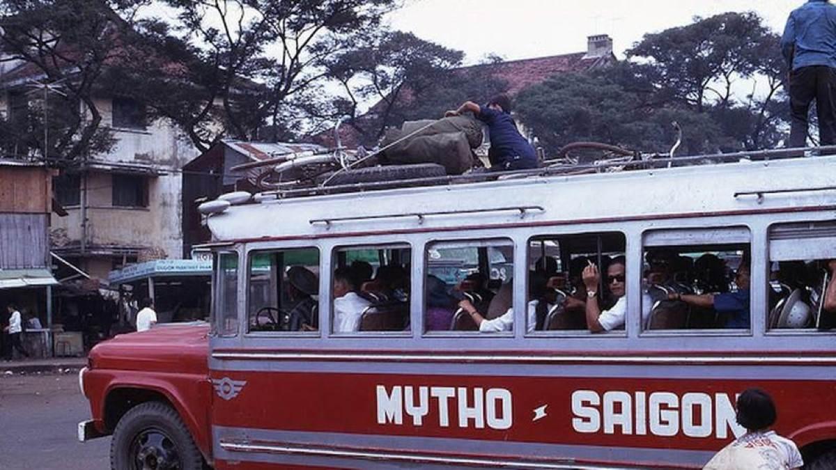 Xe khách chuyến Mỹ Tho - Sài Gòn