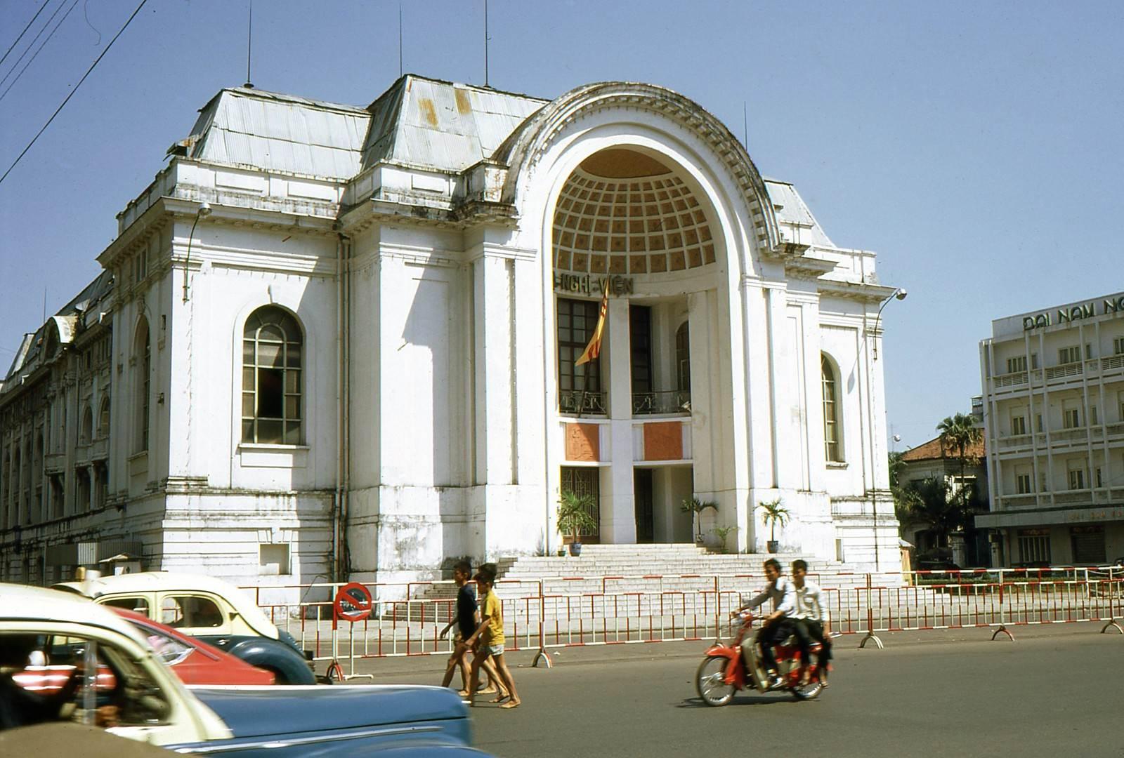 Hạ Nghị Viện Việt Nam Cộng Hòa được chụp vào năm 1969. Ảnh Frederick S. Moore