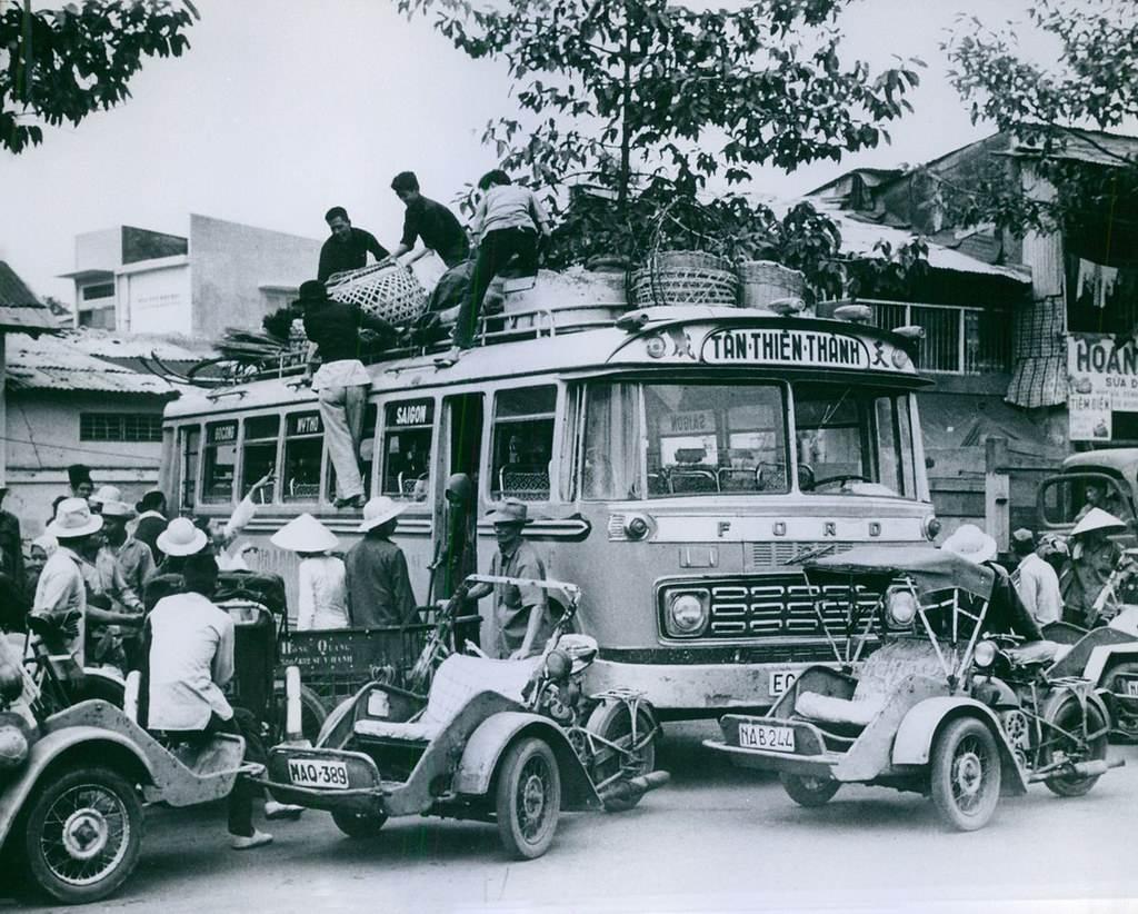 Bến xe Pétrus Ký đi miền tây hãng xe Tân Thiên Thành tuyến Saigon - Mỹ Tho - Gò Công