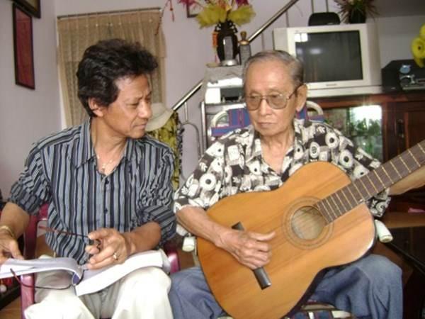 Nhạc sĩ Châu Kỳ và ca sĩ Chế Linh