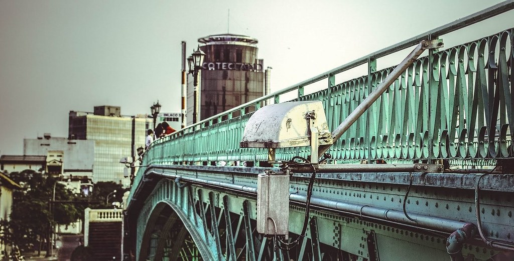 Cầu Mống hiện nay đã hơn 100 năm tuổi