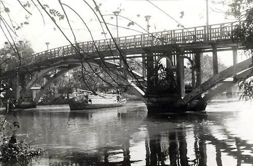 Cầu Thị Nghè năm 1927 - Ảnh tư liệu
