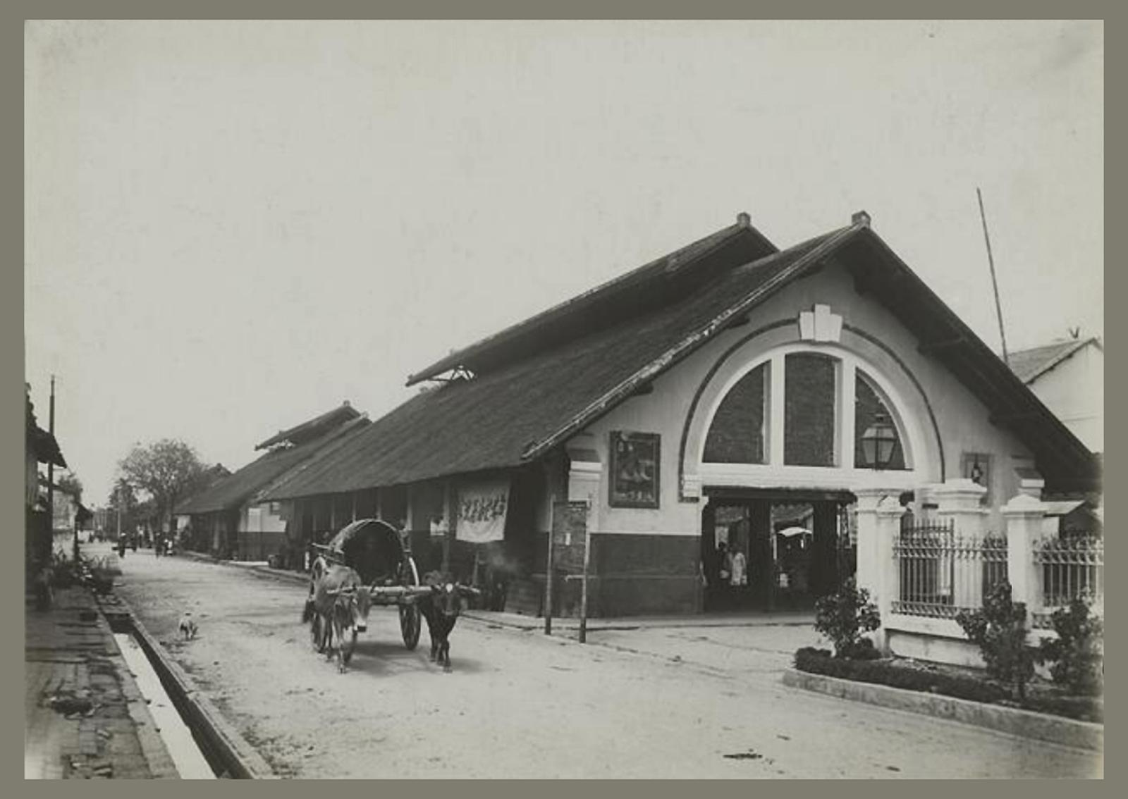 Chợ Thủ Đức trong những năm 1920-1929