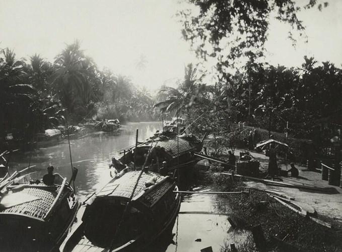 Cuộc sống trên sông nước ở Thủ Đức hơn 90 năm trước