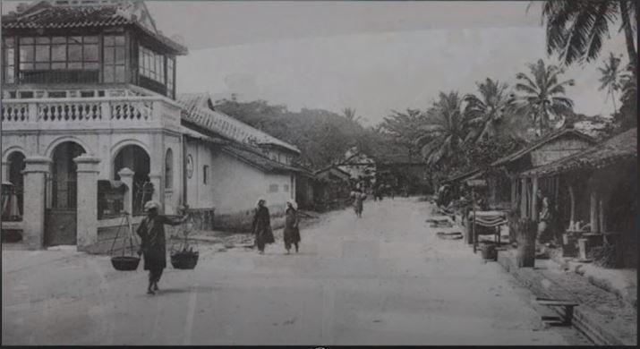 Một góc con đường làng ở Thủ Đức những năm 1920-1929