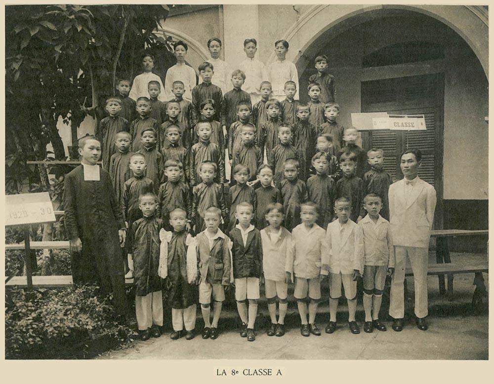 Học sinh trường La San Taberd ngày xưa