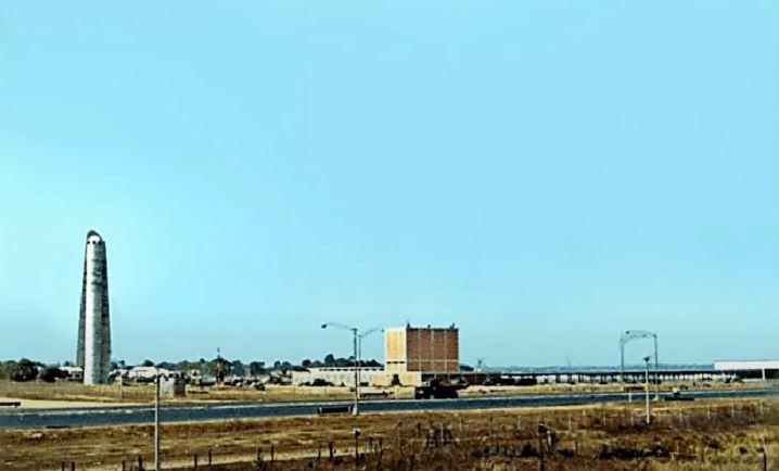 Nhà máy nước Thủ Đức năm 1968