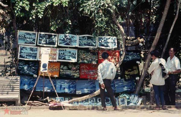 Quầy trnha trong Thảo Cầm Viên 1969