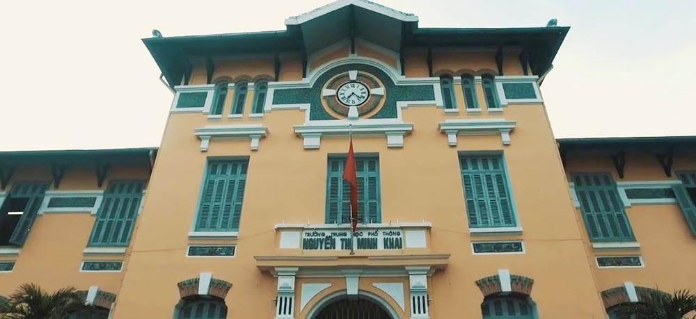 Trường nữ sinh Gia Long nay là trường THPT Nguyễn Thị Minh Khai