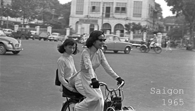 Đường Nguyễn Huệ - Sài Gòn năm 1965