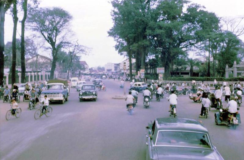 Ngã ba Chi Lăng - Lê Văn Duyệt năm 1968