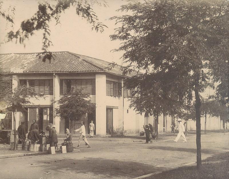 Con phố Chaigneau, nay là đường Tôn Thất Đạm