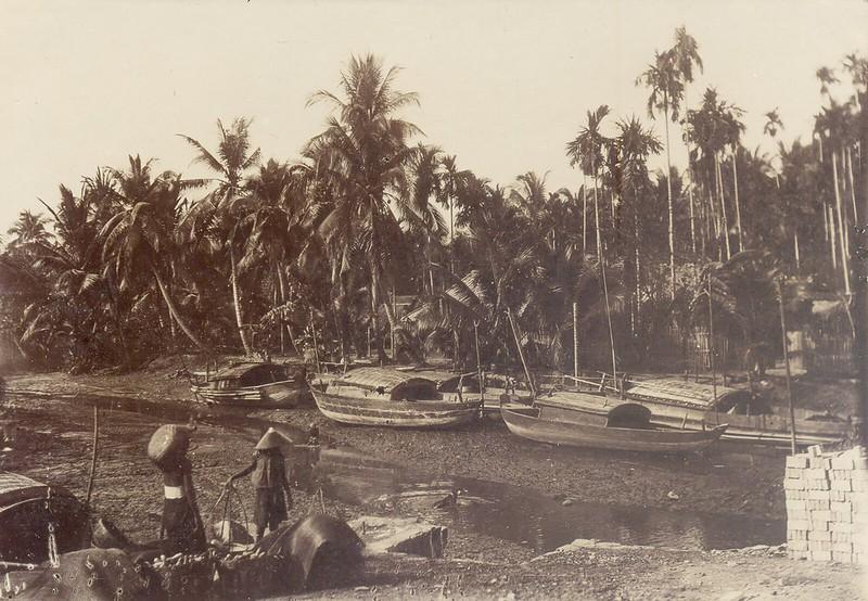 Kênh rạch ở quận Thủ Đức - Sài Gòn năm 1902