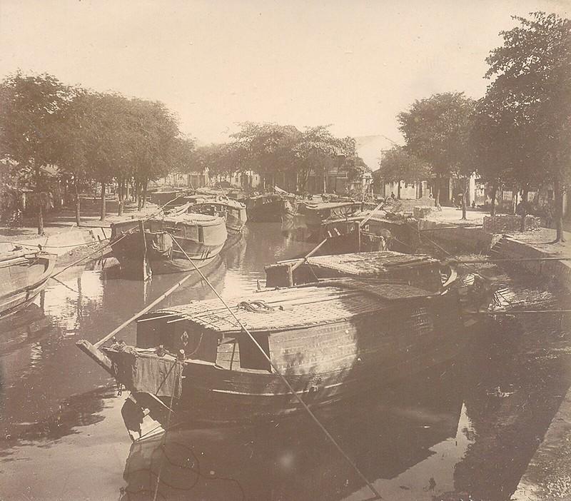 Rạch ở khu Chợ Lớn - Sài Gòn 1902