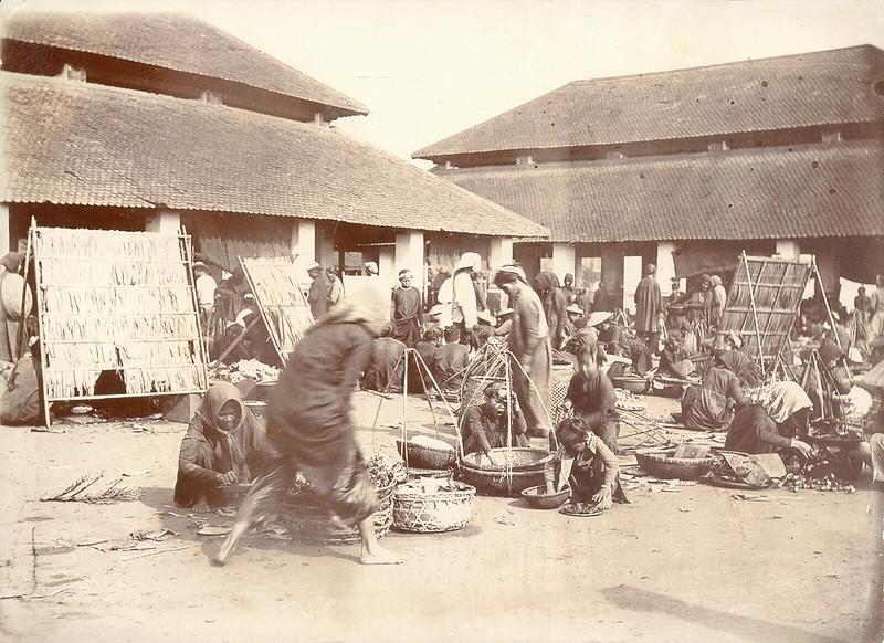 Sài Gòn 1902 - Khu chợ bán rau củ