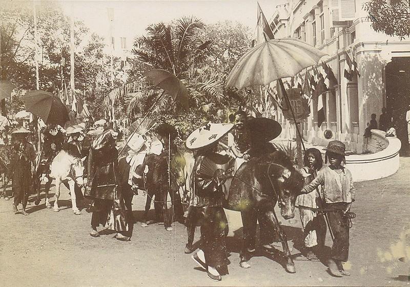 Không khí ngày Tết nhộn nhịp ở Sài Gòn năm 1902